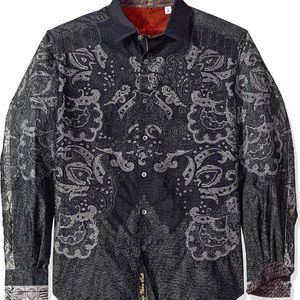 Robert graham cooley black limited edition shirt